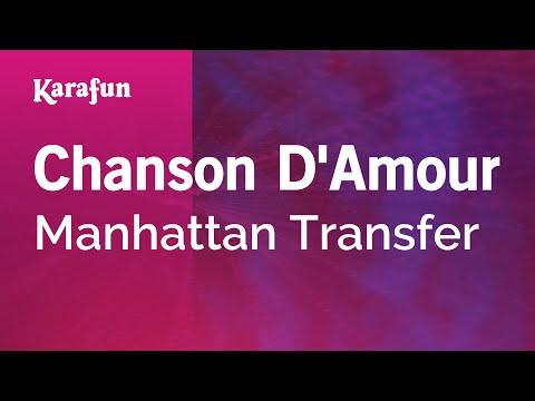 Karaoke Chanson D'Amour - Manhattan Transfer *
