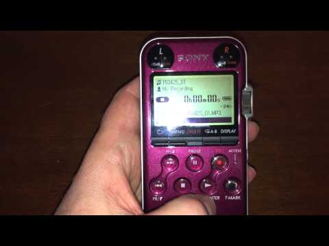 Review of Sony Stereo Digital Recorder Model PCM-M10