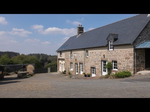 Unique property with 3 houses & outbuildings for sale in Normandy, France