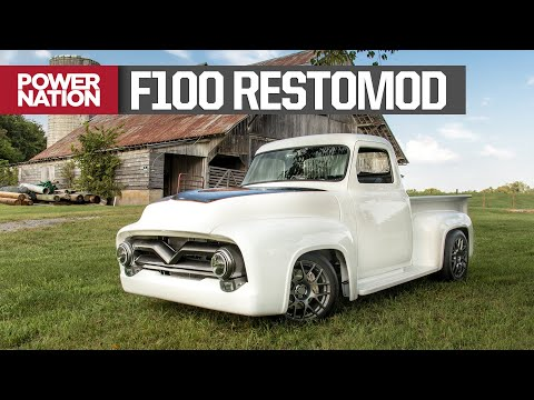 '55 Ford F100 Restomod: Bare Metal To Mecum Sold - Truck Tech S3, E23
