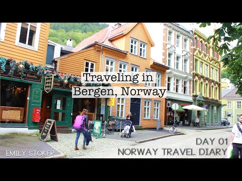 01 Wandering in Bergen // Norway Cruise Travel Vlog