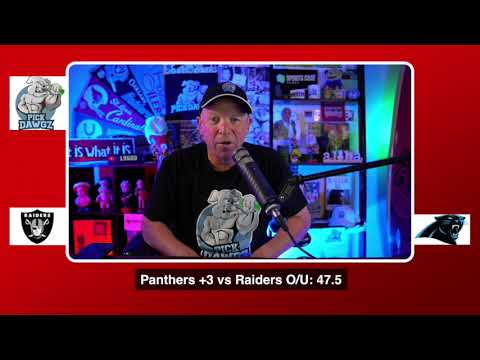 Las Vegas Raiders vs Carolina Panthers NFL Pick and Prediction 9:13:20 Week 1 NFL Betting Tips