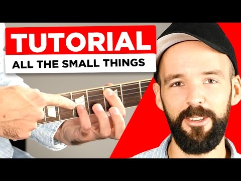 blink-182 - All The Small Things - Guitar Tutorial - Part 1