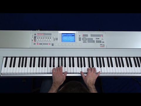 Korg M3 - Amazing Piano from K-Sounds