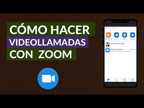 Cómo Puedo Hacer Videollamadas o Reuniones con la App de Zoom