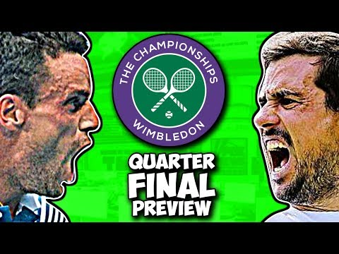 BAUTISTA AGUT vs PELLA | Wimbledon 2019 | Quarter Final Preview