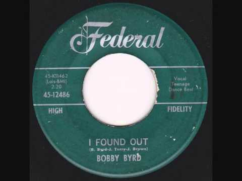Bobby Byrd - I Found Out