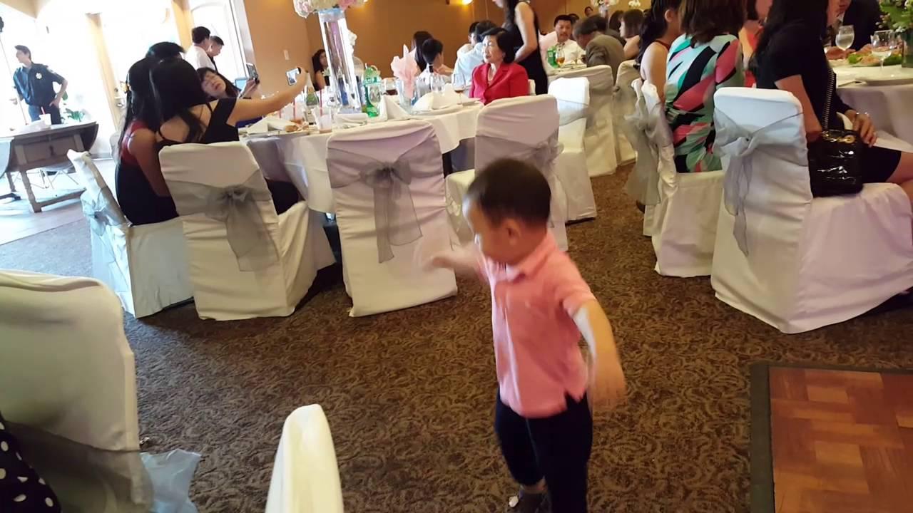 Baby Dancing At A Wedding 2