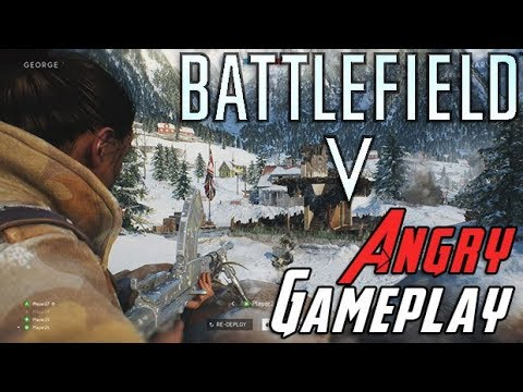 Battlefield V Gameplay - AngryJoe Impressions thumbnail