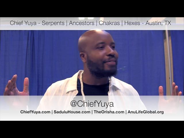 Chief Yuya   Serpents | Ancestors | Chakras | Hexes   Austin, Texas