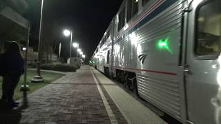 Amtrak #4 Southwest Chief departing Barstow station 2019-10-12