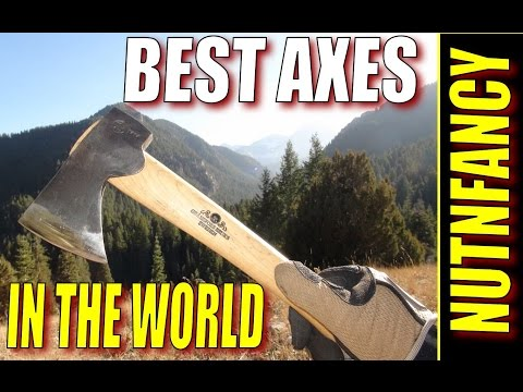 Best Wilderness Axes in the World by Nutnfancy
