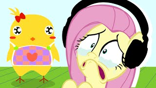 Fluttershy plays Can Your Pet? 🍉 | Heartbreaking ;;