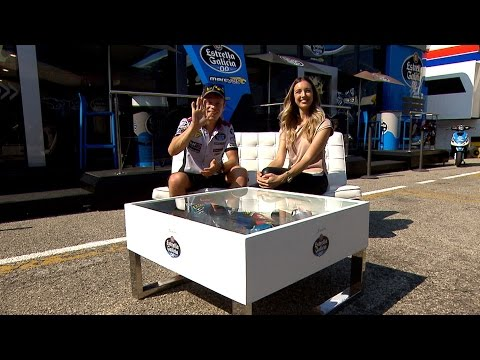"Tito Rabat talks MotoGP™: ""Everything is new!"""