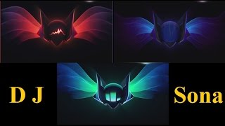 DJ Sona Backstage Pass - Legendary Sona Skin? Mysterious Pages on Riot Website