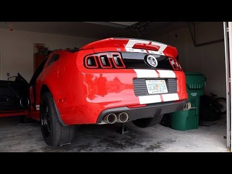 The New Exhaust for the Shelby GT500! LTH Quad-Tip Axle-Backs
