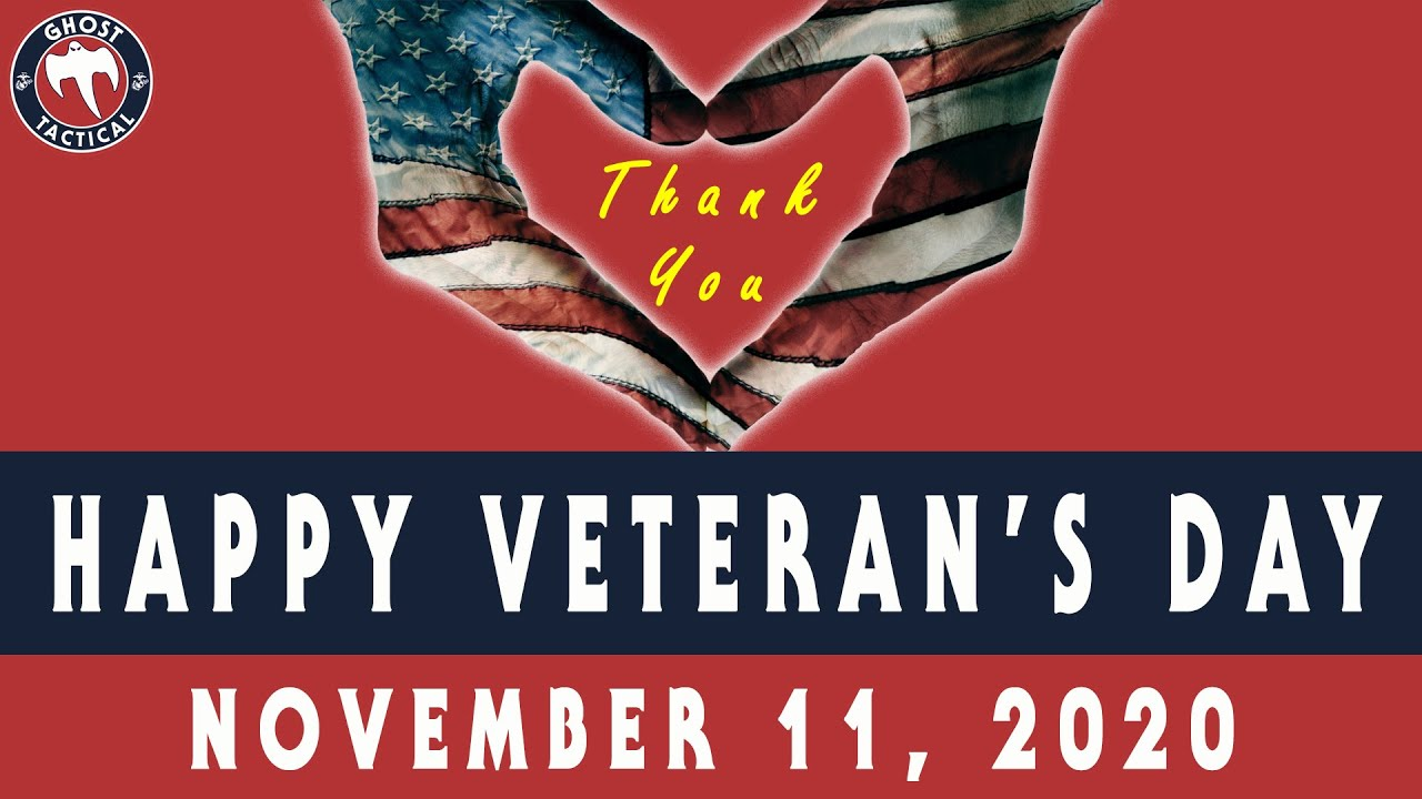 Veterans Day Tribute:  Thank You To All Who Served