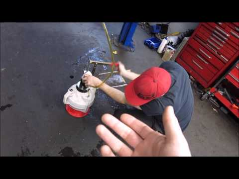 HOW TO REPLACE OR CHANGE DSG TRANSMISSION FLUID