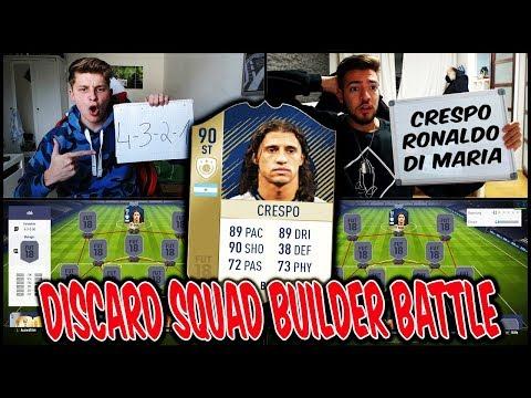 NÄCHSTER krasser DISCARD 🔥⛔️ 90 ICON CRESPO Squad Builder Battle vs. WAKEZ! ⛔️ Fifa 18 Ultimate Team