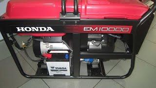 Хонда/Honda EM 10000 однофазный бензиновый генератор(, 2016-04-19T09:58:04.000Z)
