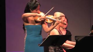 Chee-Yun & Julie Coucheron - Saint-Saëns Sonata No. 1 in D Minor