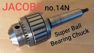 "14N 3JT 0 to 1//2/"" 0-13mm NICE 4J3 Arbor JACOBS Super Bearing Chuck No"