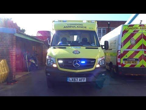 NEW London Ambulance (67 Plate) - Walkaround, Sirens & Lights!
