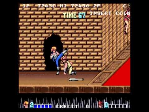 ✪ Double Dragon (Arcade) - Whole game with one coin
