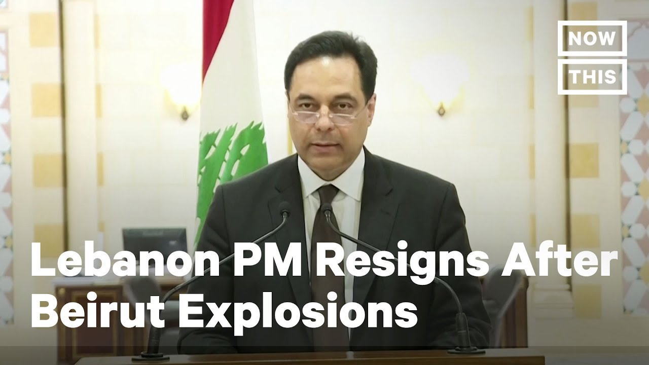 Lebanon's PM Resigns Following Beirut Explosions | NowThis