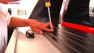 Installation Roller Lid CB-744R -- Ford Ranger (T6) -- CARRYBOY