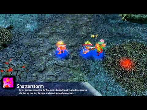 видео: heroes of newerth — представляем героя: lodestone
