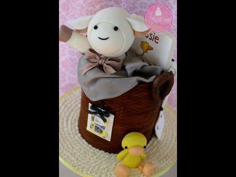 How to Make a Basket Cake; A McGreevy Cakes Tutorial