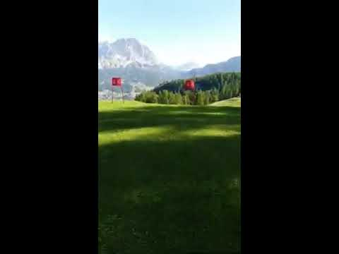DOLOMITES DELICIOUS TRAIL LAST SLALOM TO THE FINIS...