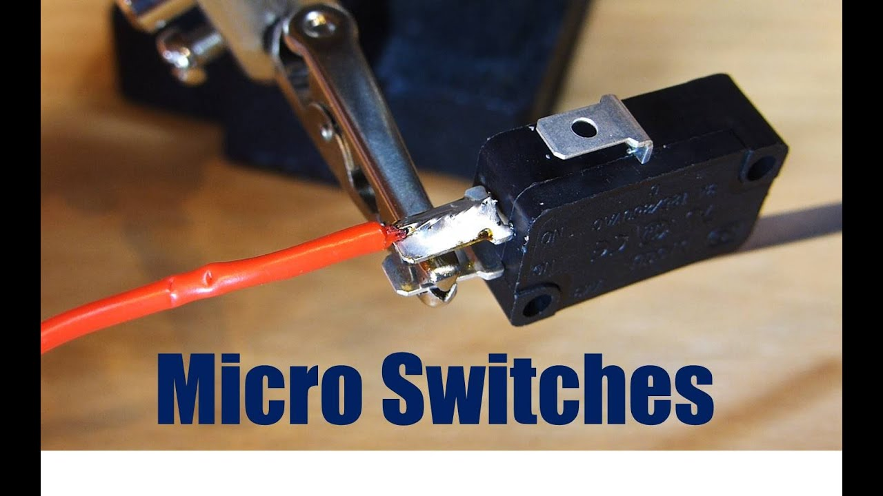 How To Wire Up A Micro Switch Youtube