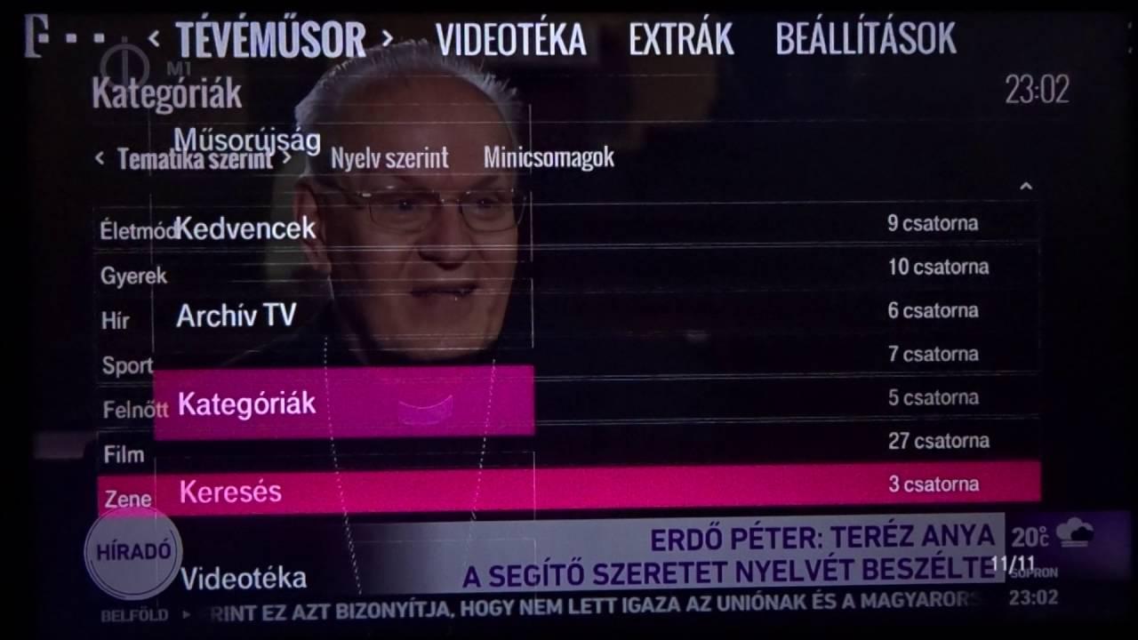 Magyar Telekom IPTV Családi + HD csomag HBO MaxPak minicsomaggal