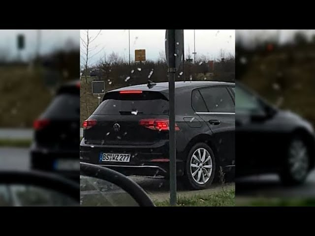 2020 Volkswagen Golf Caught On Camera Without Camo