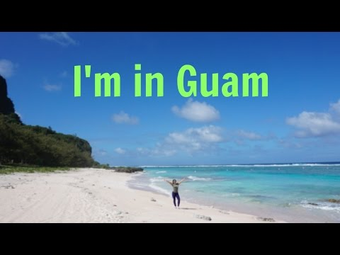 I'm in Guam// Travel vlog// Deployment
