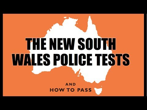 New South Wales Police Tests (NSW) - How to Pass