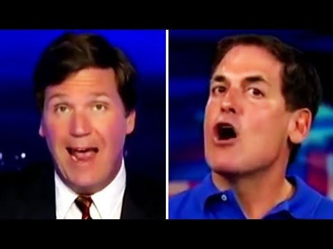 Fox News: Tucker Carlson Vs. Mark Cuban On Capitalism