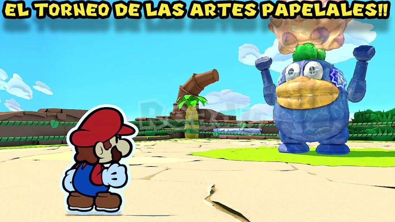 El Torneo de las ARTES PAPELALES !! - Paper Mario Origami King con Pepe el Mago (#18)