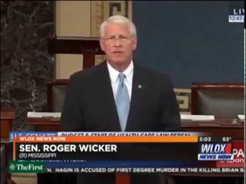 WLOX TV Reports on Wicker's Opposition to Obamacare