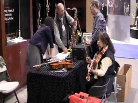 Cecilio Musical Instruments at NAMM Show 2012