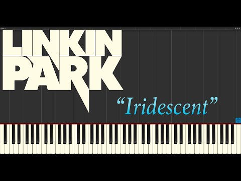 Linkin Park - Iridescent (Piano Tutorial Synthesia)