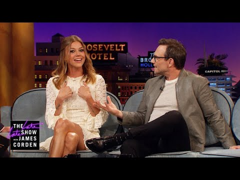 Christian Slater & Adrianne Palicki Have Magic In Their Pasts
