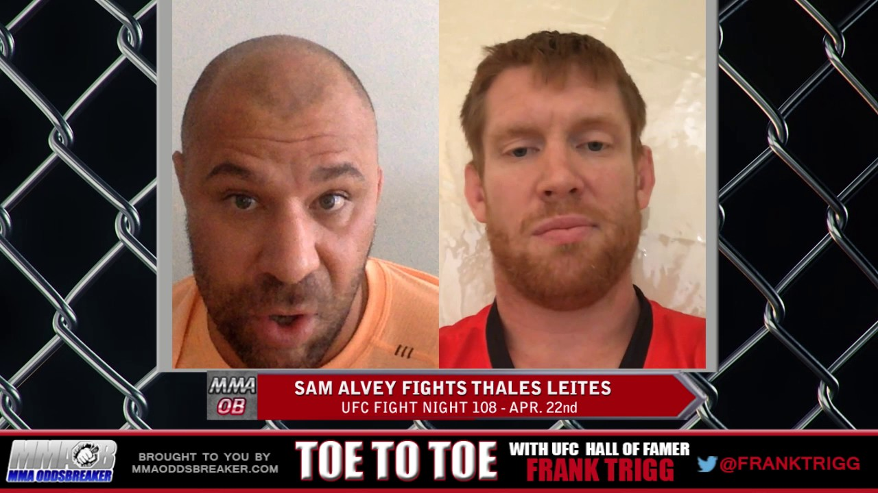 Frank Trigg Interviews UFC Fight Night 108's Sam Alvey