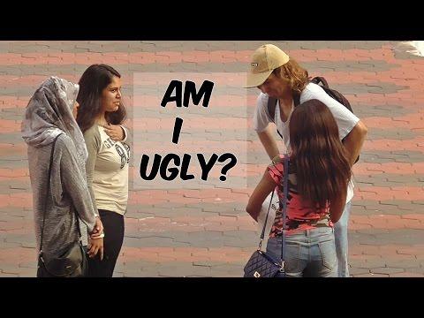 Ugly guy asking girls Am i handsome?   social experiment