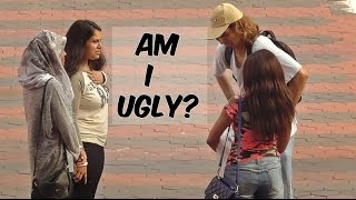 "Ugly guy asking girls ""Am i handsome?"" --  social experiment"