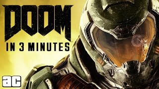 Doom ENTIRE Storyline of All Games in 3 Minutes (Doom Animated Story)(The entire Doom video game series backstory in just 3 minutes! Entire Halo Story in 3 Minutes ▻ https://youtu.be/p9oIUv9cOw8 Subscribe for more ArcadeCloud ..., 2016-05-07T19:30:01.000Z)