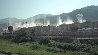 Video Extra: Bridge demolition in slow motion