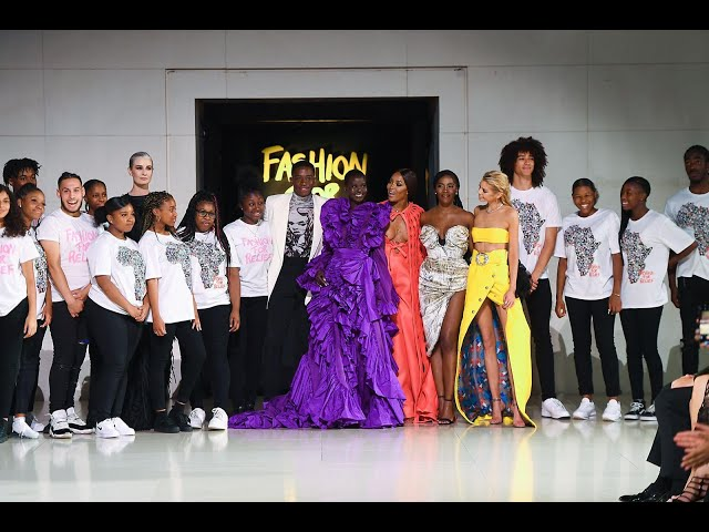 Fashion For Relief With Naomi Campbell | London 2019